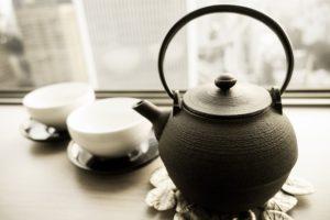 土瓶とお茶