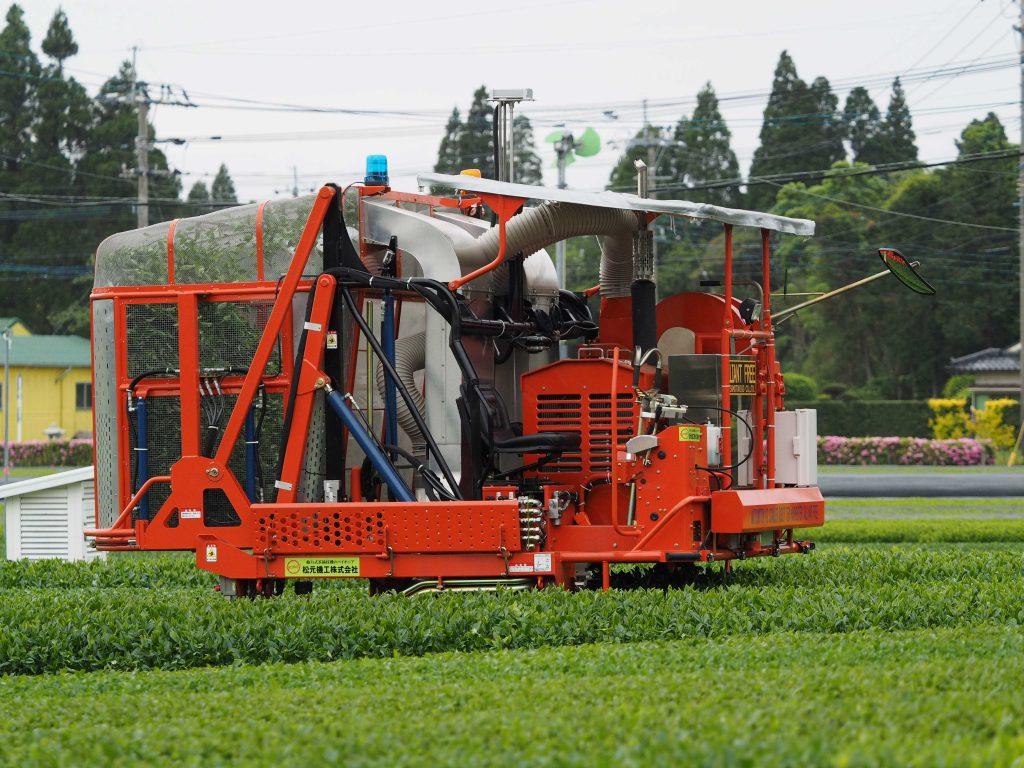 ロボット摘採機
